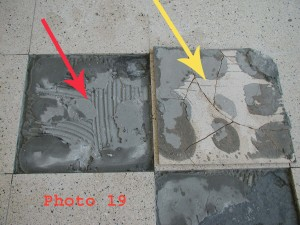 Spot-bonding -- often improperly used -- can contribute to tile voids.
