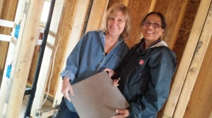 Daltile, CapcoTile & Stone, and MarinoTile & Marble all donated tile for Habitat homes in Woodland Park, Co.