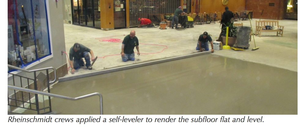 The Large Format Tile Was Installed With A Premium Rapid Setting Non Sag Medium Bed Thin Set Mortar