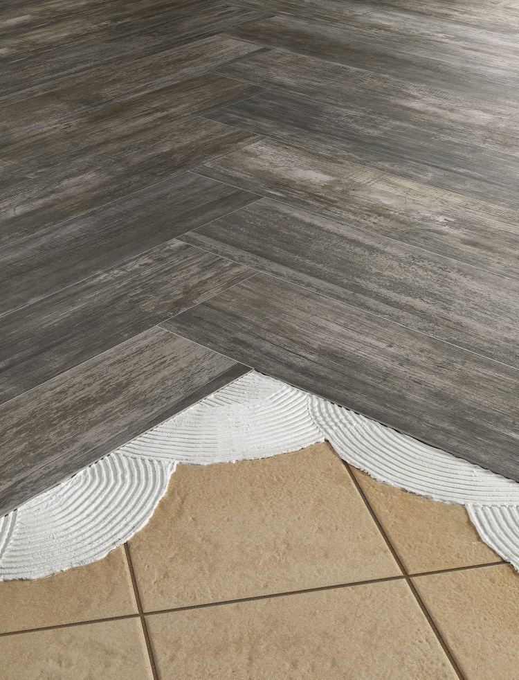 Resurface ceramic tile