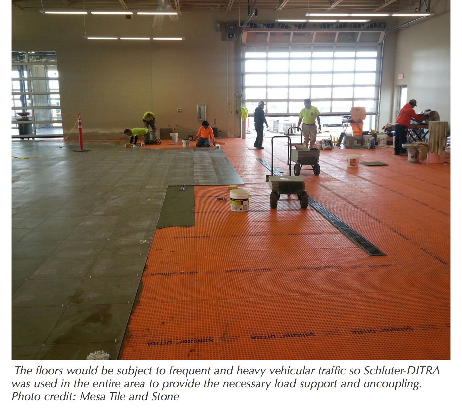 The Concern With Young Green Concrete Is That Slab Has Large Amounts Of Residual Moisture Still Needs To Be Released From