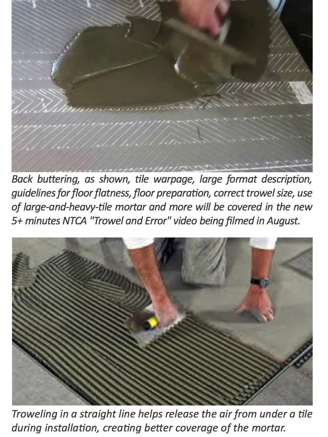 Trowel Notch Size For Large Tiles : Trowel size for porcelain floor tile carpet vidalondon