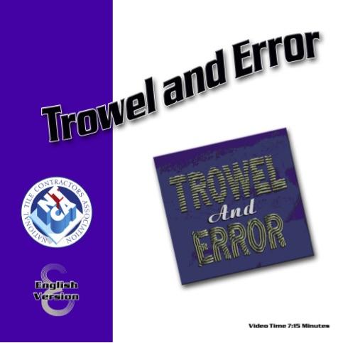trowel-and-error
