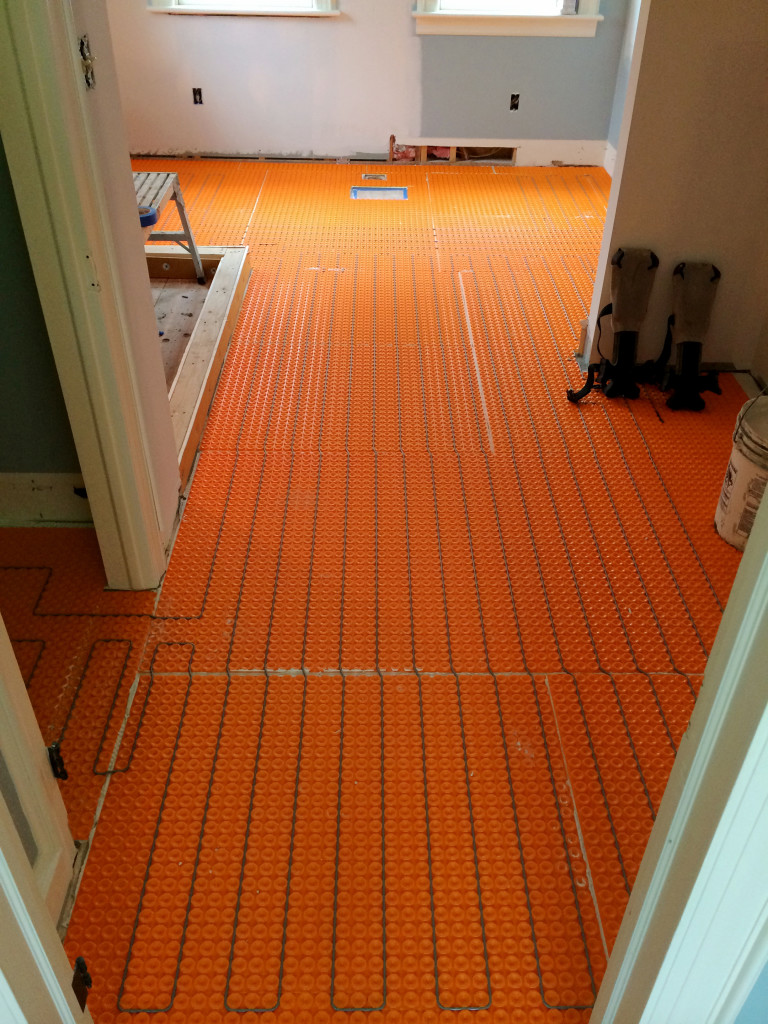 May feature schluter systems floor heating tileletter for Warm floor