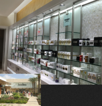 J&R provided technical expertise for substrate testing and to select and install the proper bonding agents for this Neiman Marcus project, that called for installation of plastic-sheet-mounted mosaics.