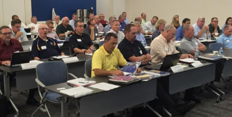 More than 120 guests attended the TCNA Handbook Committee meeting in Atlanta, with 38 voting members, including NTCA representatives Nyle Wadford, James Woelfel, Chris Walker and alternates Martin Howard, Bart Bettiga and Dan Welch, as well as Scott Carothers voting for CTEF.