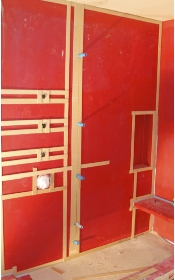 Regardless of steam room/steam shower design, it is critically important that the enclosure incorporates the correct membrane, since not all membranes are suitable for high-temperature and steam applications.