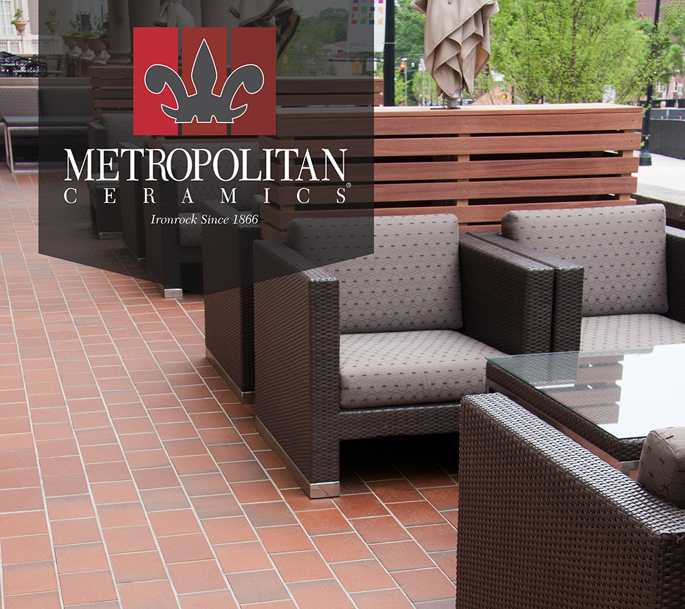 Product news page 14 tileletter at coverings 2017 orlando florida april 4 7 metropolitan ceramics will present their large selection of quarry tile and thin brick products at their dailygadgetfo Gallery