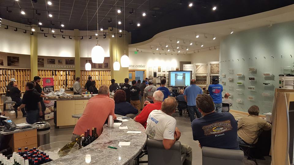 49b510090d About 40 people attended the San Diego Daltile Design Center NTCA workshop.  The Southern California crowd expressed a lot of interest in certification.