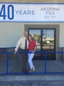 Arizona Tile kicks off 40th anniversary celebration events in San